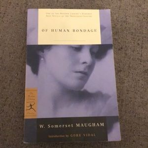 Book Of human bondage by w. Somerset Maugham